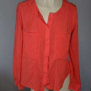 MAEVE -  coral blouse
